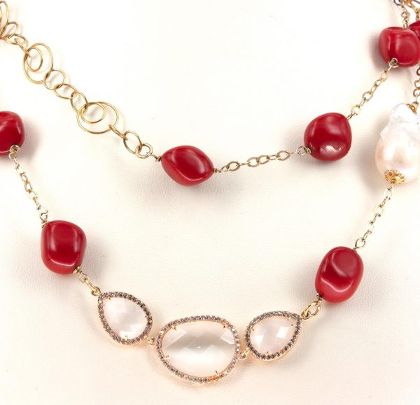 Red Sea - Woman Necklace - Italy World - Italian Luxury Experience