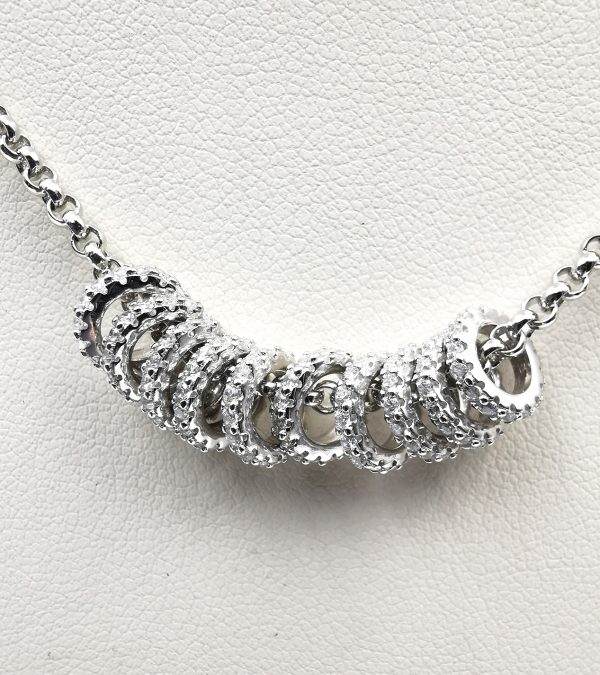 Sparkling Lady - Woman Necklace - Italy World - Italian Luxury Experience