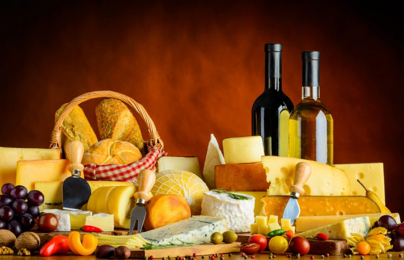 Cheese, Food and Wine