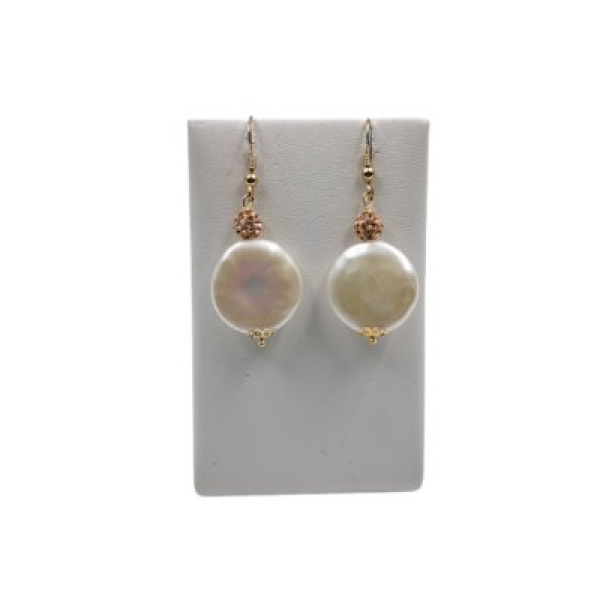 Earrings with Pearls - Italy World - Italian Luxury Experience