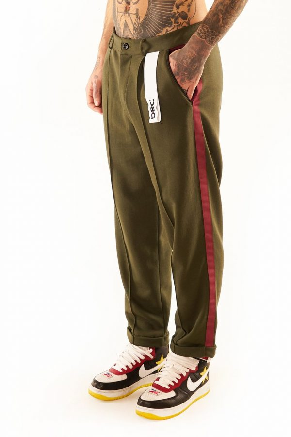 DSG Disgusto - Classy Sweat 100% Made in Italy - Pants Military - Italy World - Italian Luxury Experience