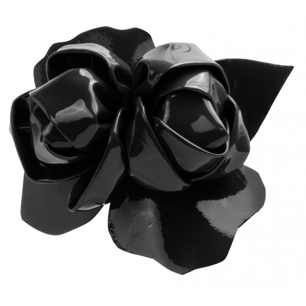 LJDM - Carnal Roses - Patent Leather - 100% Made in Italy - Italy World - Italian Luxury Experience